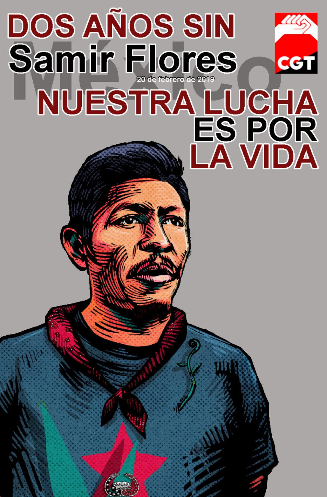 Justicia para Samir Flores Soberanes, no al Plan Integral de Morelos