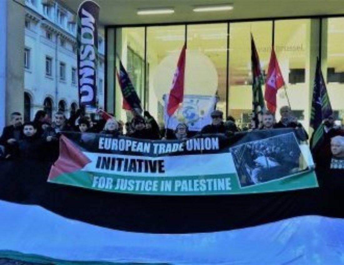 ¿Qué pueden hacer los y las sindicalistas en Europa para apoyar al pueblo palestino?