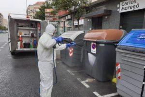 Los trabajadores de limpieza viaria exigen que se les incluya en el calendario de vacunación