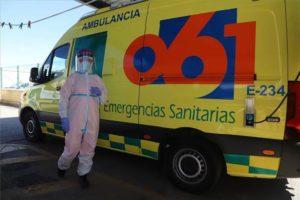 Todas y todos a la vacunación del gerente y la directora en Málaga de EPES 061 el lunes 8 de febrero