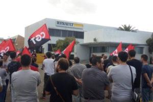CGT considera que Renault ha utilizado la negociación del convenio para blanquear contratos en fraude de ley