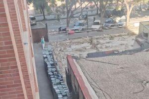 Continúa la acumulación de residuos infecciosos en el Hospital Clínico de València