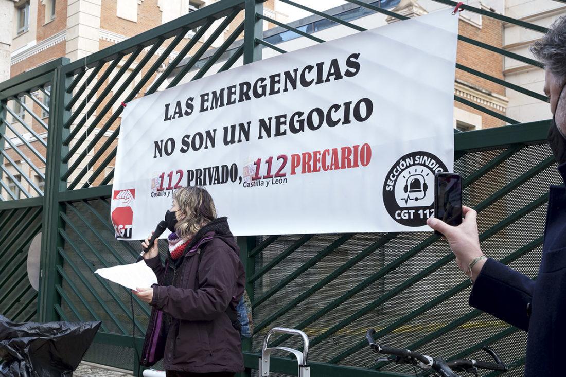 Valladolid: Concentración en el 112
