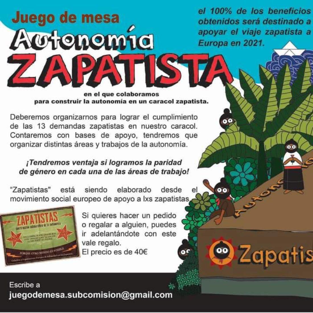 Juego de mesa «Zapatistas»