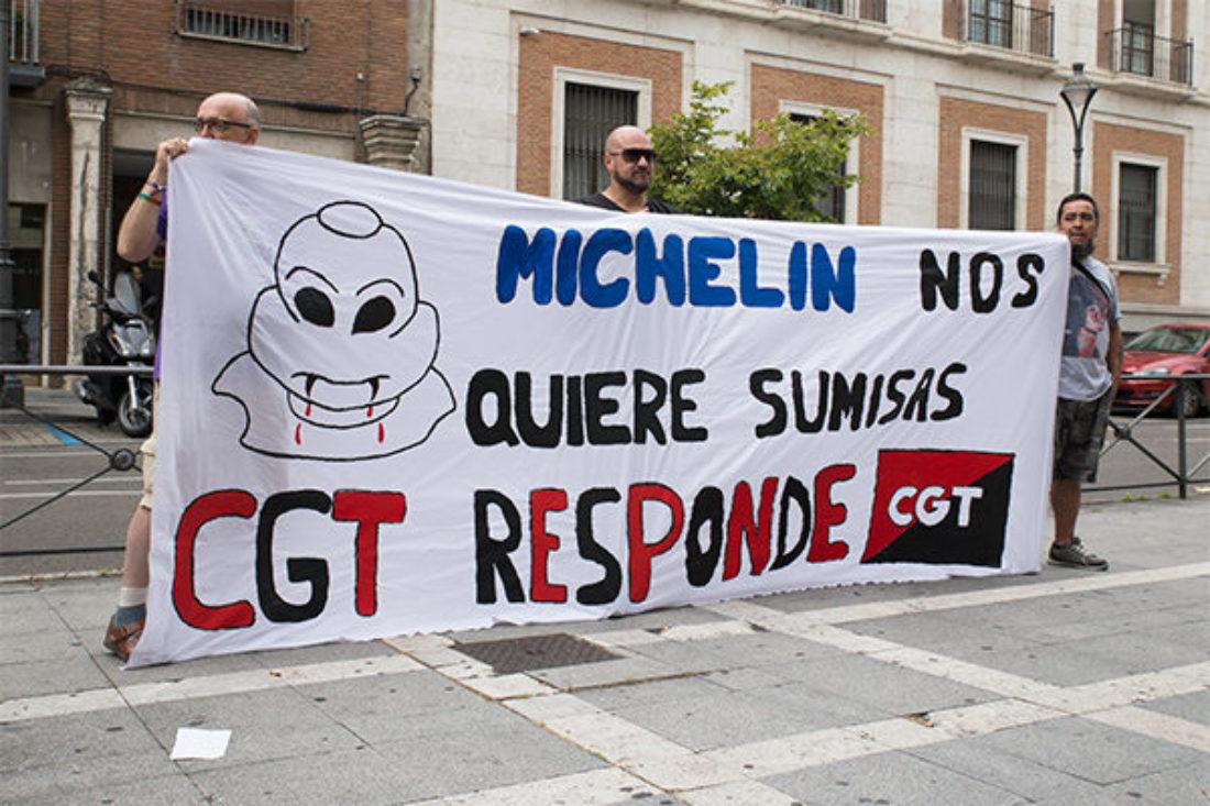 Michelin: La Justicia vuelve a dar la razón a CGT