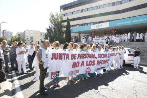 El Servicio Aragonés de Salud anuncia nuevos recortes de personal en Aragón
