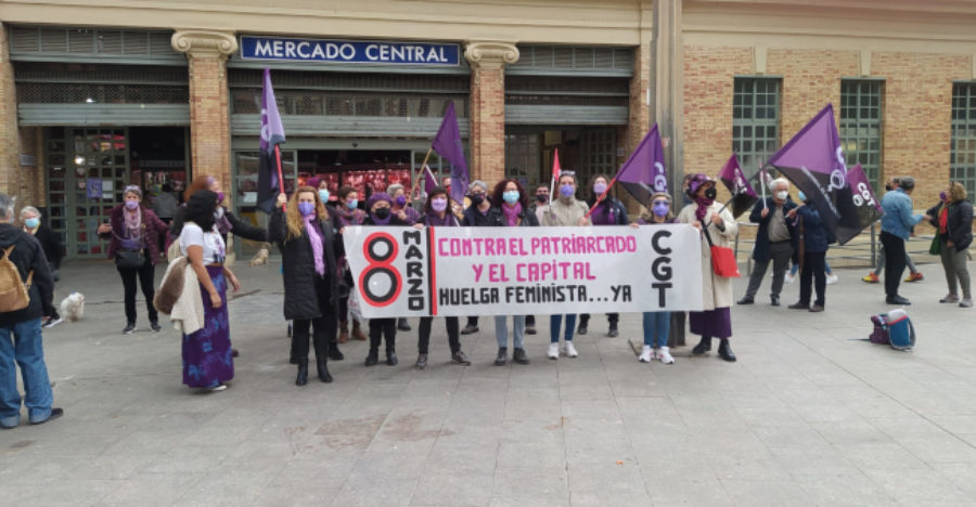 [Fotos] 8-M: Día Internacional de la Mujer Trabajadora - Imagen-15