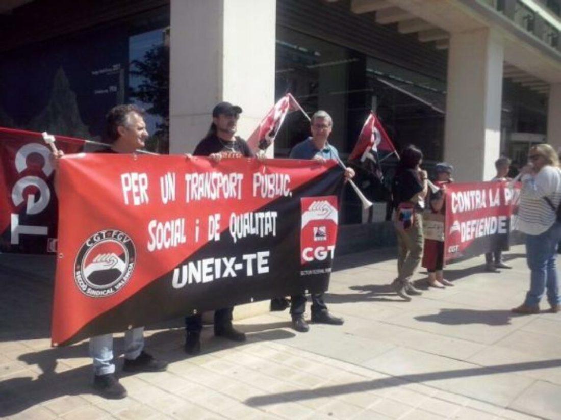 CGT lamenta el incumplimiento de los acuerdos por parte de FGV