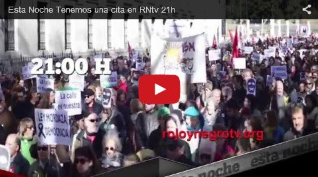 Últimos programas y reportajes realizados por Rojo y Negro Televisión