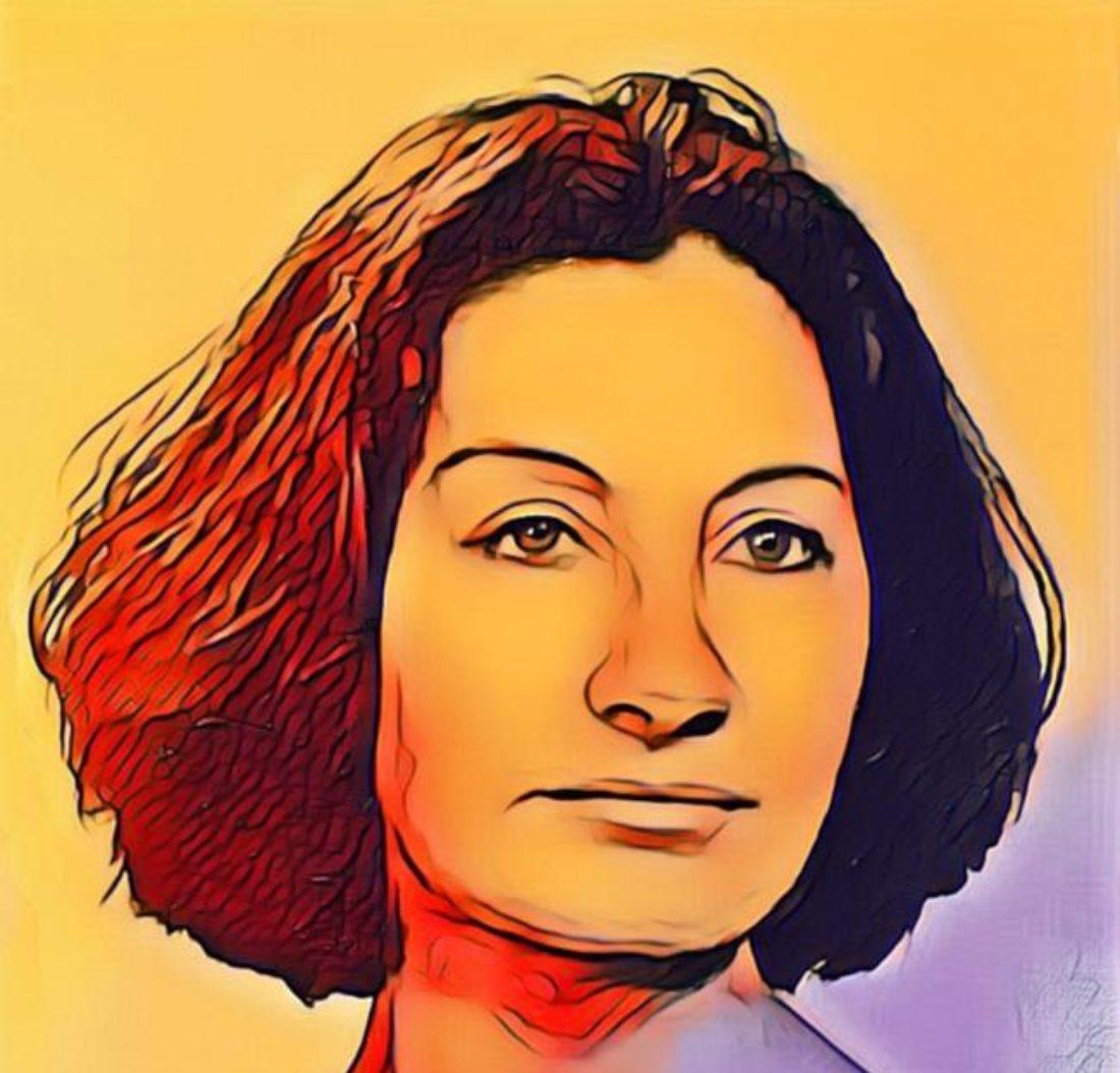 Antonina Rodrigo, obrera de la pluma