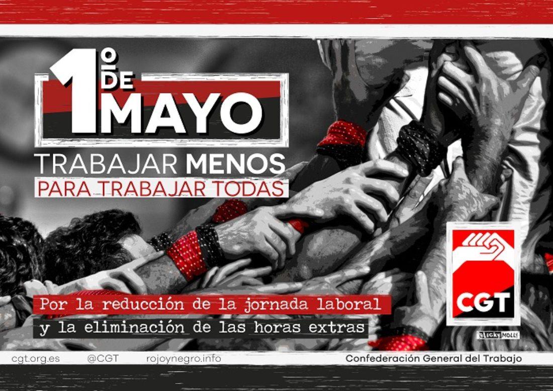 1º de Mayo 2021: Trabajar menos para trabajar todas
