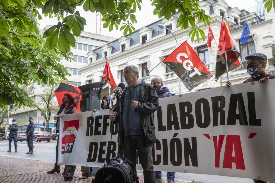 CGT inicia una campaña de movilizaciones descentralizadas contra las Reformas Laborales de PSOE y PP