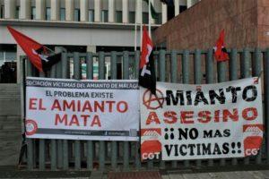 CGT FESIM considera insuficiente la partida presupuestaria de los Fondos Europeos destinada a las víctimas del amianto y exige al Gobierno la aplicación de los coeficientes reductores