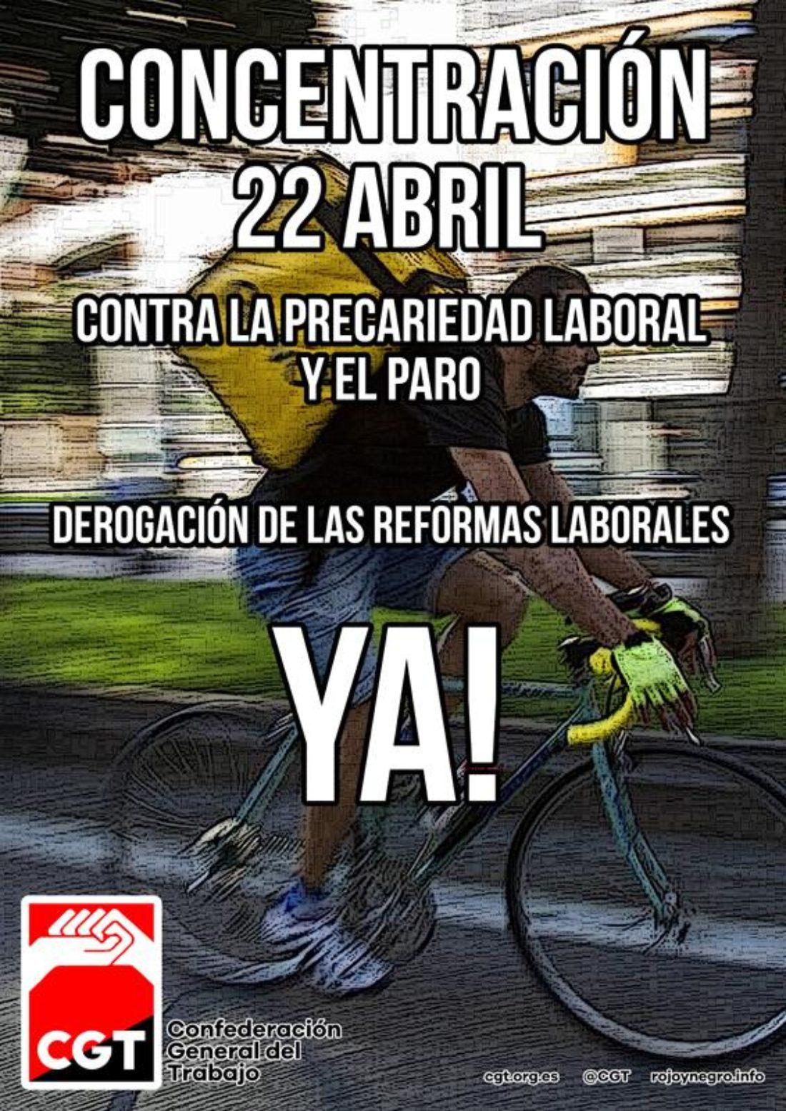 CGT rechaza modificaciones puntuales de las Reformas Laborales y aboga por la movilización para exigir a PSOE-UP su derogación