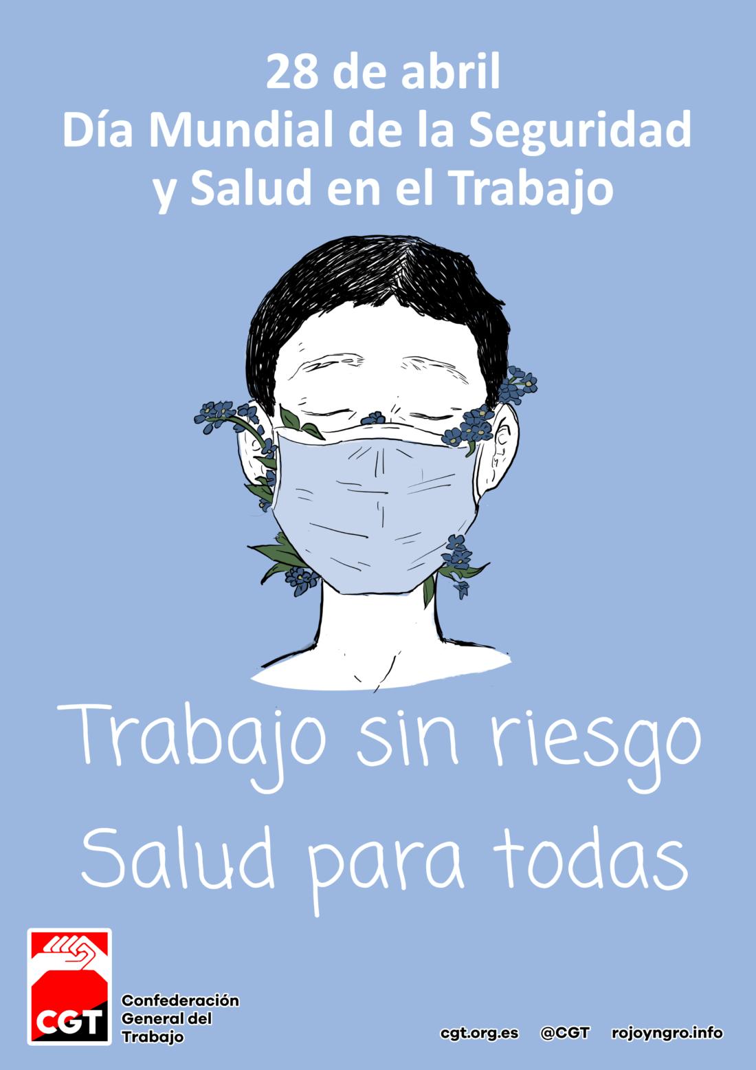28 de abril 2021: Día Mundial de la Seguridad y Salud en el Trabajo en Salamanca