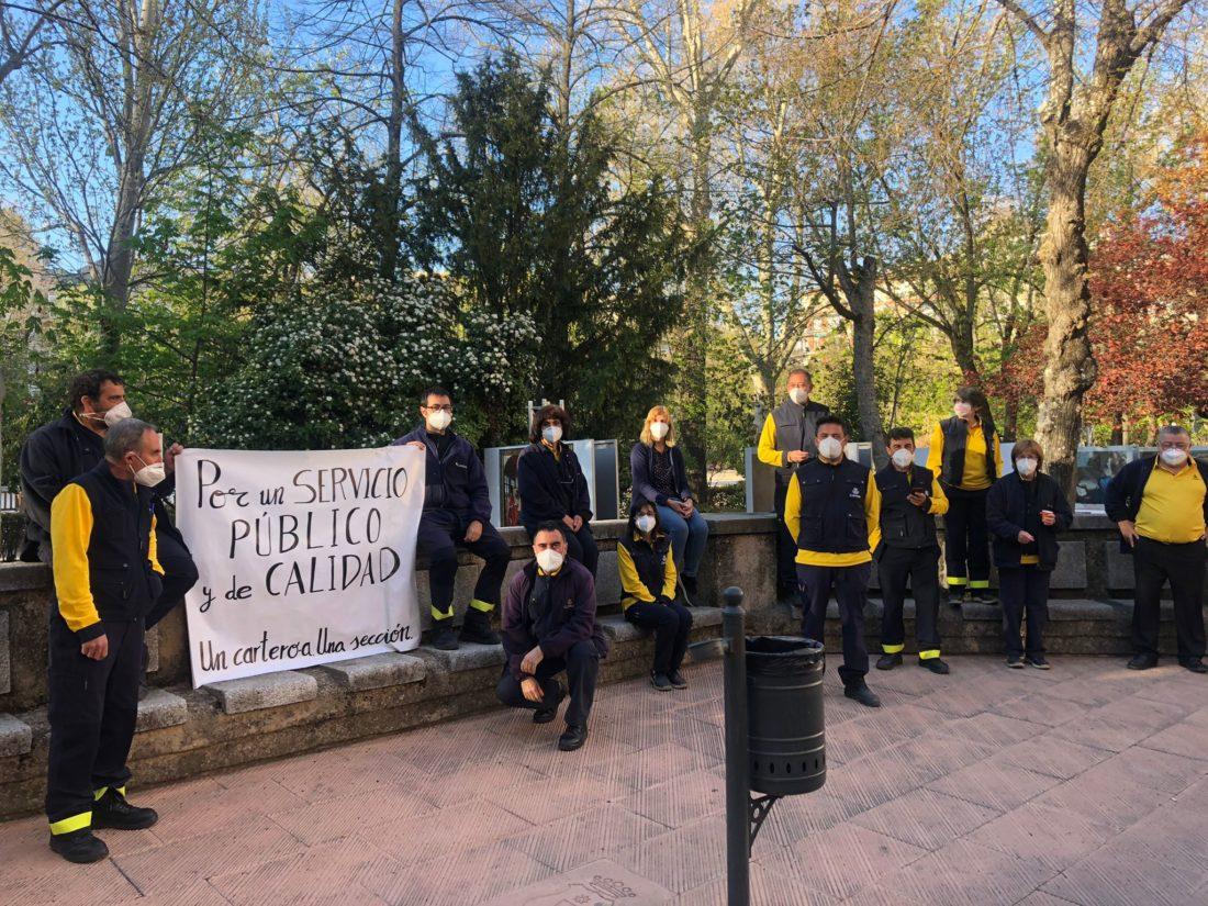 La cartería de Cuenca inicia movilizaciones por la falta de personal