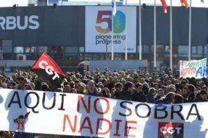 La Subdelegación del Gobierno prohibe una marcha contra el cierre de Airbus por el puente nuevo