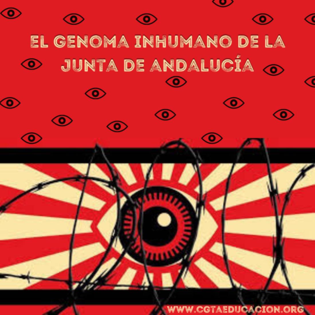 El genoma inhumano de la Junta de Andalucía