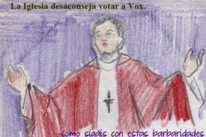 La Iglesia y Vox