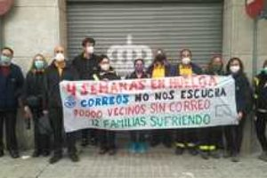 La Huelga indefinida de Correos Sabadell se extiende a las Unidades de Reparto de Terrassa