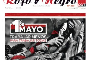 Rojo y Negro Nº 355, abril 2021