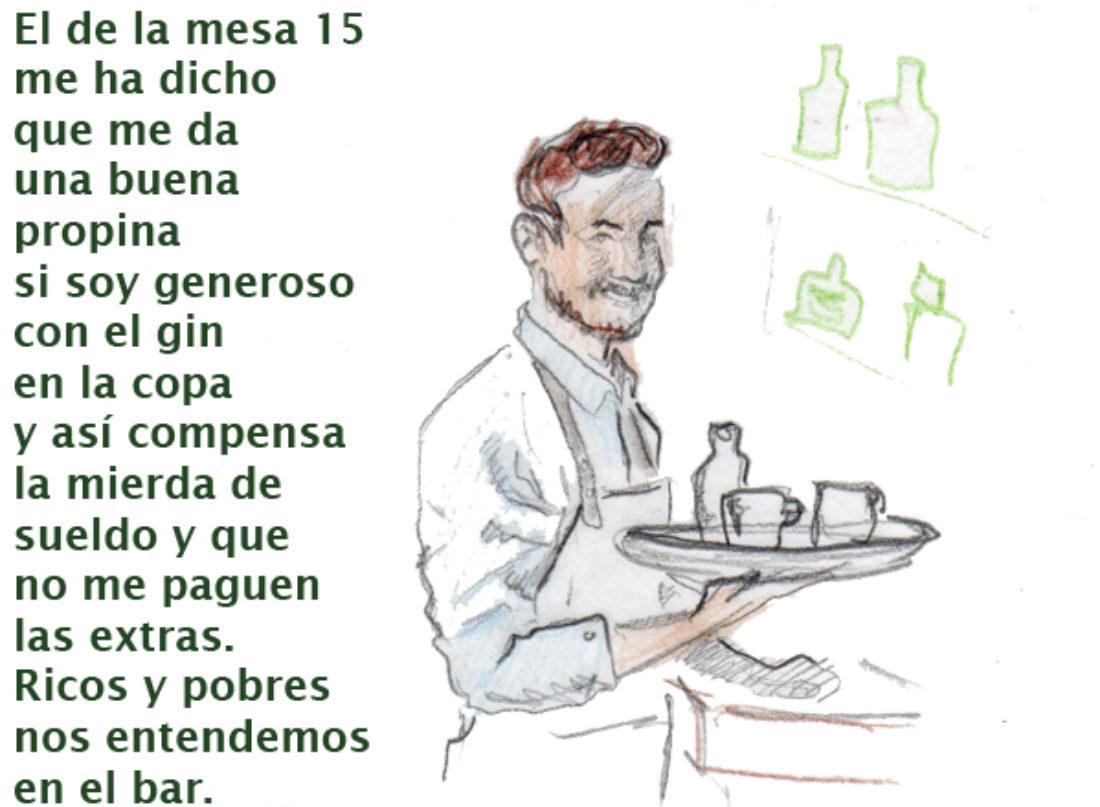 Clases sociales en el bar