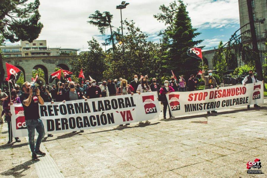 13-M: Concentraciones contra las Reformas Laborales - Imagen-3