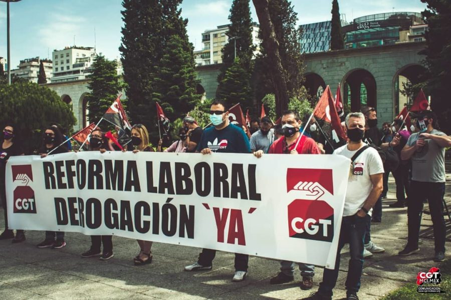 27-M: Manifestaciones por la derogación de las Reformas Laborales - Imagen-12