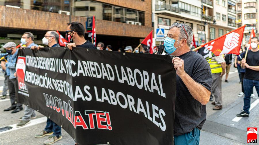 27-M: Manifestaciones por la derogación de las Reformas Laborales - Imagen-14