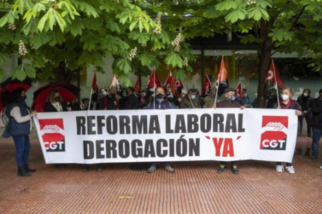 Continúan las movilizaciones contra las Reformas Labores de PSOE y PP