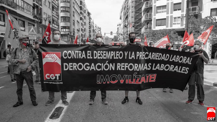 27-M: Manifestaciones por la derogación de las Reformas Laborales - Imagen-15