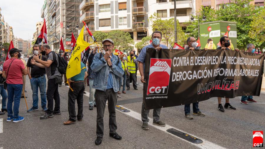 27-M: Manifestaciones por la derogación de las Reformas Laborales - Imagen-18