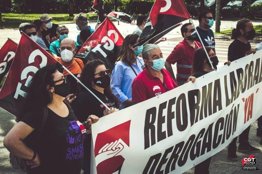 27-M: Manifestaciones por la derogación de las Reformas Laborales - Imagen-13