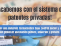 ¡Acabemos con el sistema de patentes privadas! Por una industria farmacéutica bajo control social y un plan global de vacunación público, universal y gratuito