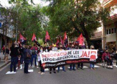 27-M: Manifestaciones por la derogación de las Reformas Laborales