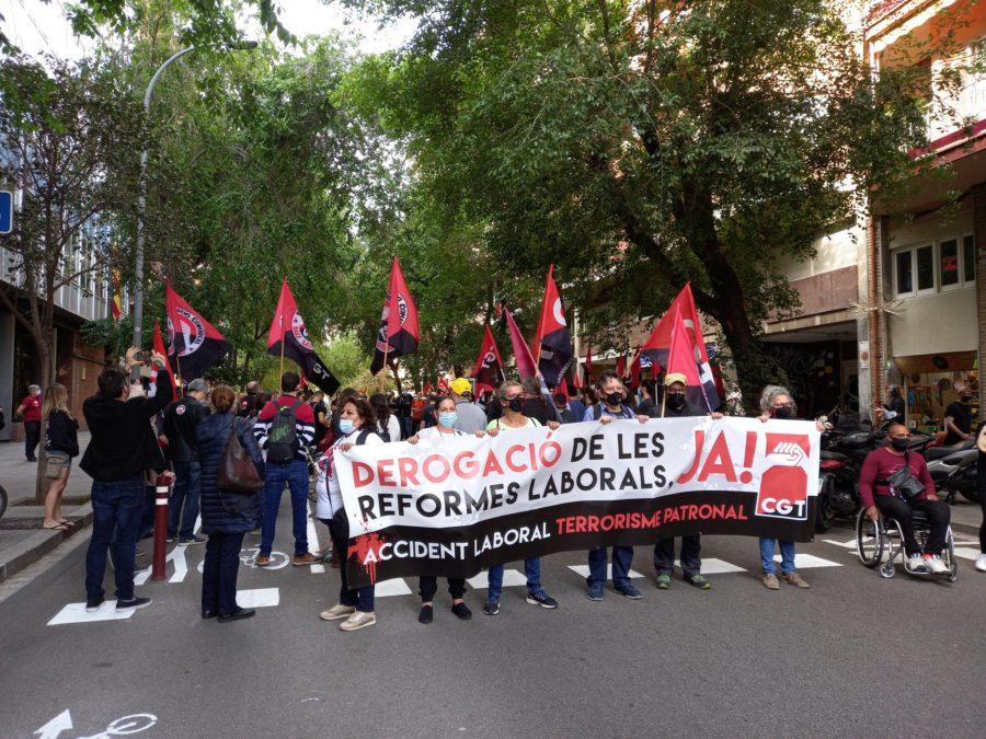27-M: Manifestaciones por la derogación de las Reformas Laborales - Imagen-1