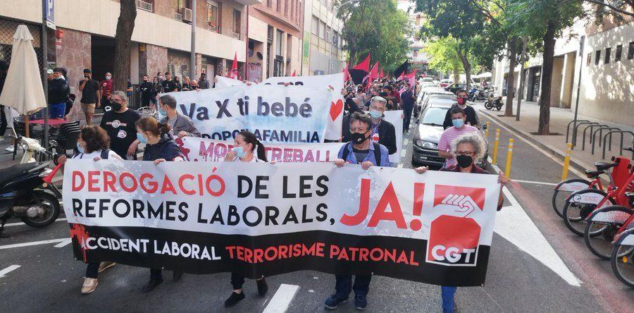 27-M: Manifestaciones por la derogación de las Reformas Laborales - Imagen-7