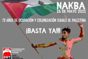 Apoyo a la huelga general palestina del 18 de mayo de 2021
