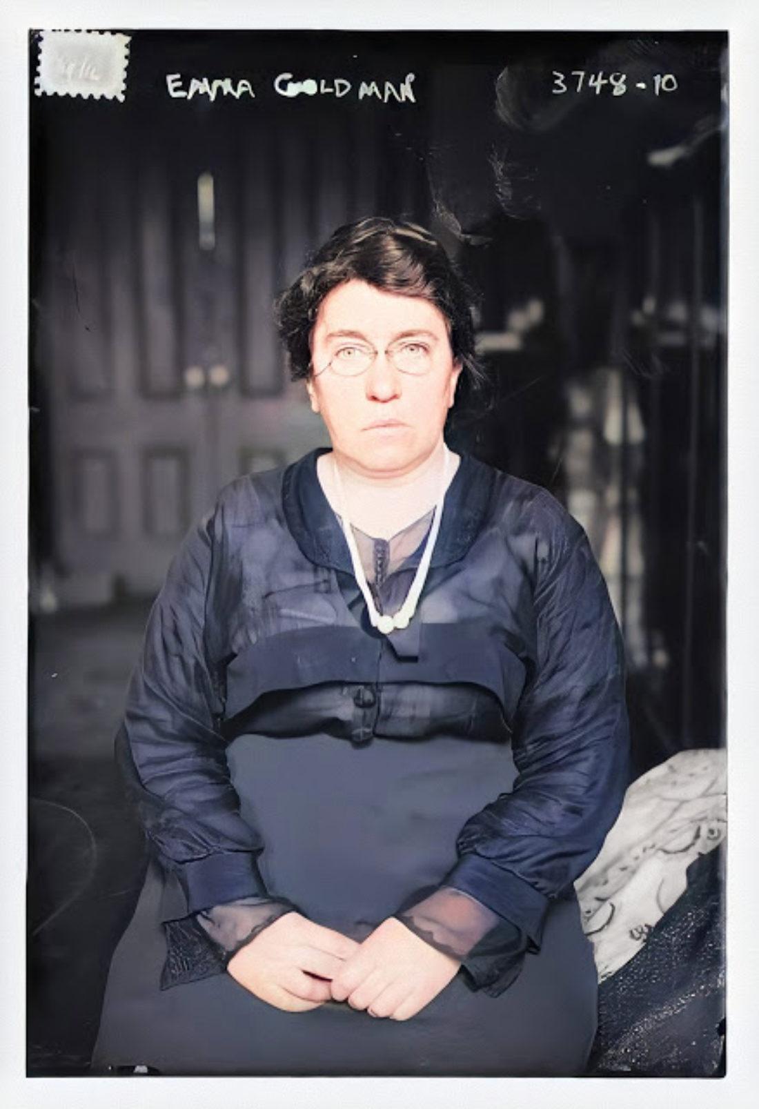 Emma Goldman y el placer de vivir. 81 aniversario de su muerte