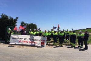 Huelga en el Centro de Tratamientos de Abajas