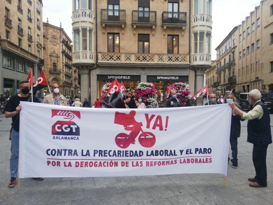 27-M: Manifestaciones por la derogación de las Reformas Laborales - Imagen-9