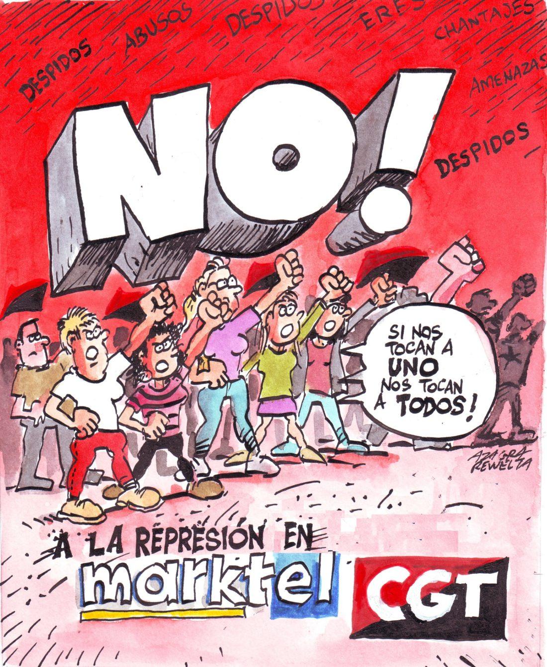 Habrá huelga en Marktel Global Services, todos los lunes