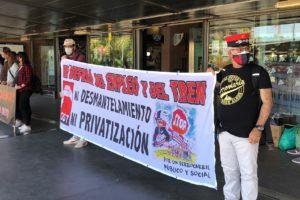 Huelga de 48 horas de los servicios de atención en tierra de Renfe