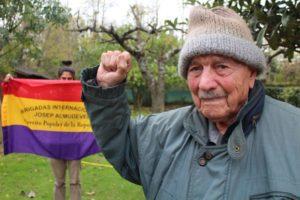 Fallece en Francia Josep Almudéver, el último Brigadista Internacional