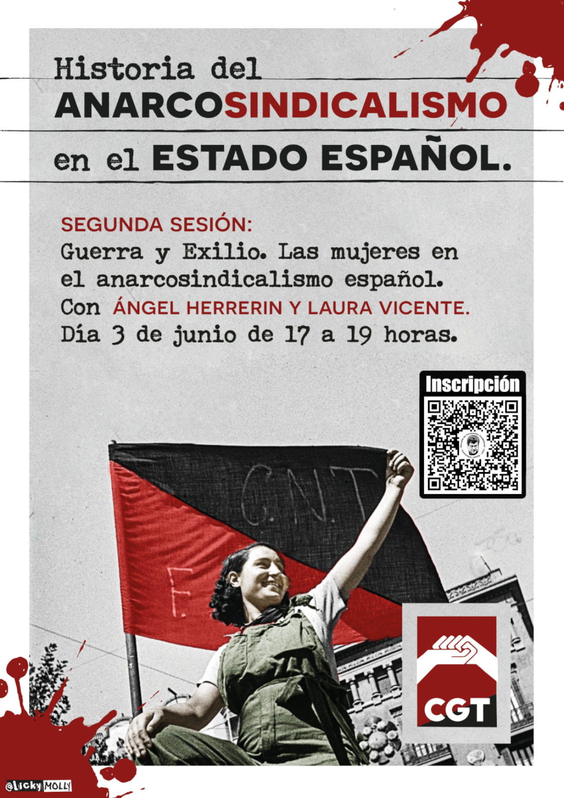 II Sesión sobre la Historia del Anarcosindicalismo en el Estado español