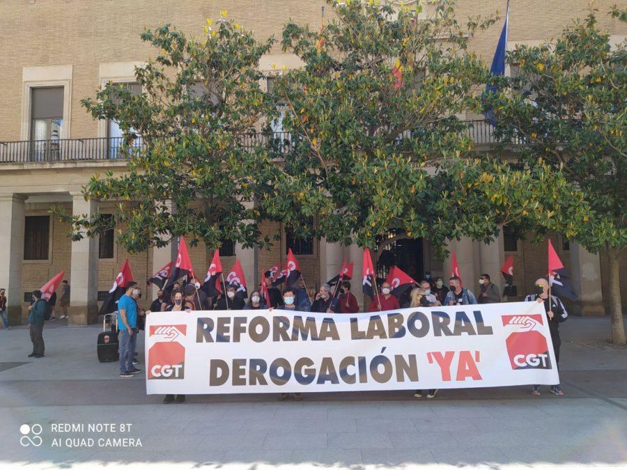 13-M: Concentraciones contra las Reformas Laborales - Imagen-13