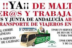 La nueva normalidad no llegará al transporte colectivo en autobús pese a finalizar el estado de alarma el próximo domingo 9 de mayo