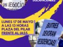 La Mesa de colectivos por la sanidad pública de Aragón MAS les comunicamos que hemos convocado una concentración en el IASS (Plaza del Pilar) el día 17 de mayo a las 12,30 horas