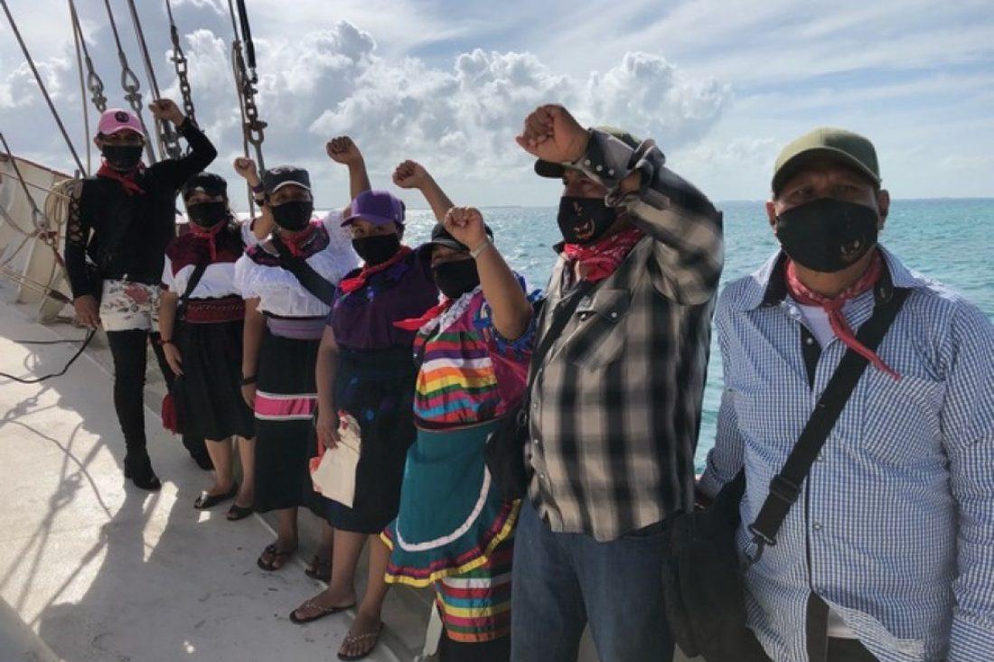 Más de 40 ciudades europeas celebran la llegada de las Zapatistas a Europa