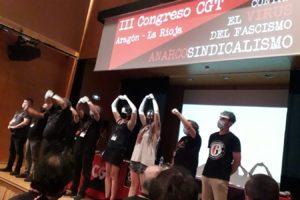 Termina el III Congreso de CGT Aragón – La Rioja